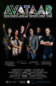 The Centre for Jazz and Popular Music proudly presents Canadian band Avataar @ UKZN Jazz Club (Howard College Campus) | Durban | KwaZulu-Natal | South Africa