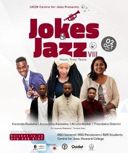 Jokes & Jazz VIII @ UKZN Jazz Club (Howard College Campus) | Berea | KwaZulu-Natal | South Africa