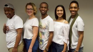 UKZN close-harmony jazz vocal ensemble