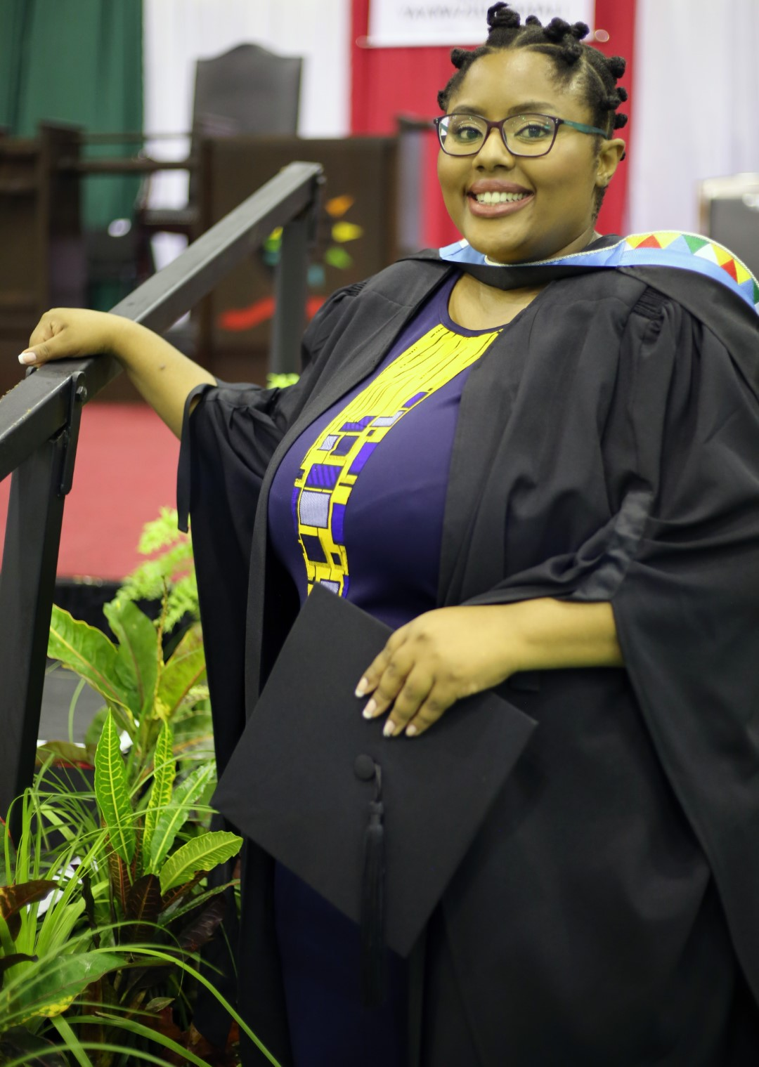Singing sensation and UKZN staff member graduates with honours degree
