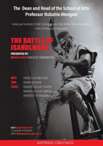The Battle of Isandlwana (Public Lecture) @ UKZN Howard College Theatre